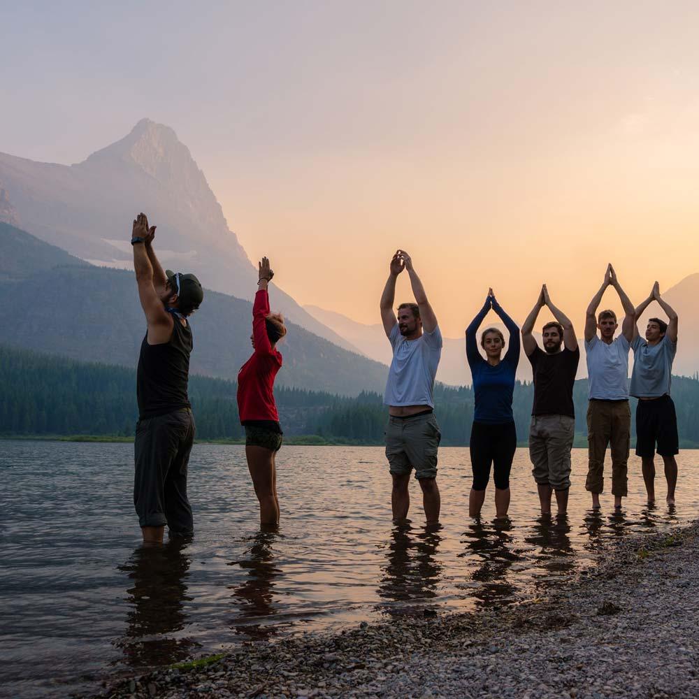 Teamevents Wandern & Yoga